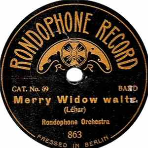 Rondophone Orchestra - Merry Widow Waltz / Gold And Silver MP3 Full Album
